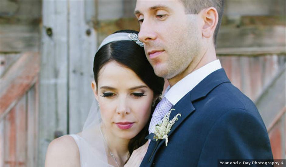 Jessica and Tom's Wedding in Garrison, New York