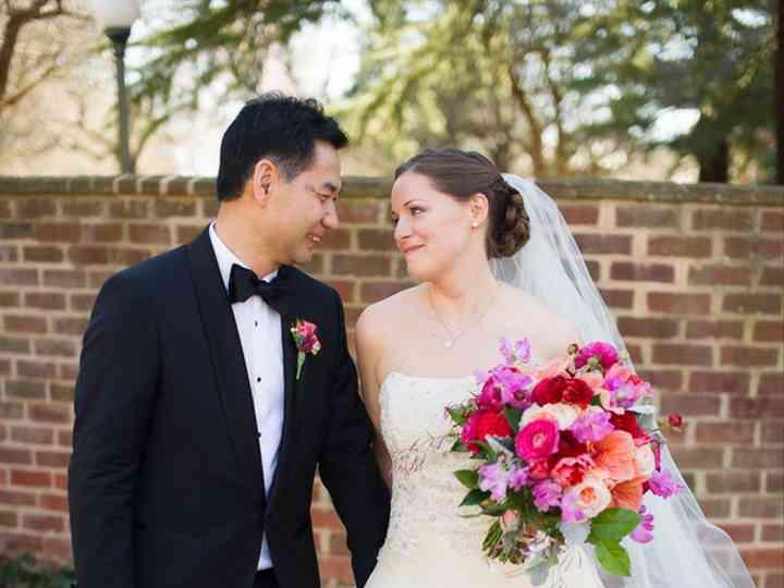 The wedding of Edward and Lindsay