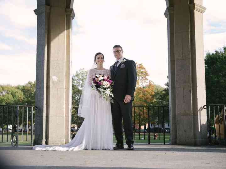 The wedding of Lauren and Kevin