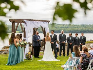 The wedding of Kristen and Saul 1