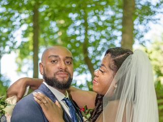The wedding of Alexandria and Sheldon 1