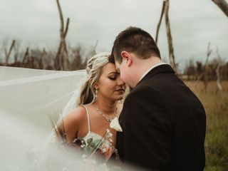 The wedding of Paige and Tucker