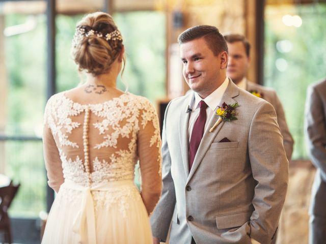 The wedding of Megan and Evan
