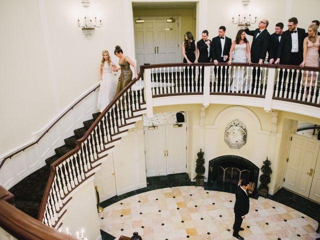 Matthew and Rebecca's Wedding in Tappan, New York 9
