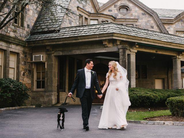 Matthew and Rebecca's Wedding in Tappan, New York 11