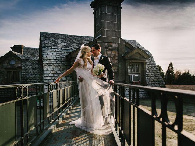 Matthew and Rebecca's Wedding in Tappan, New York 12