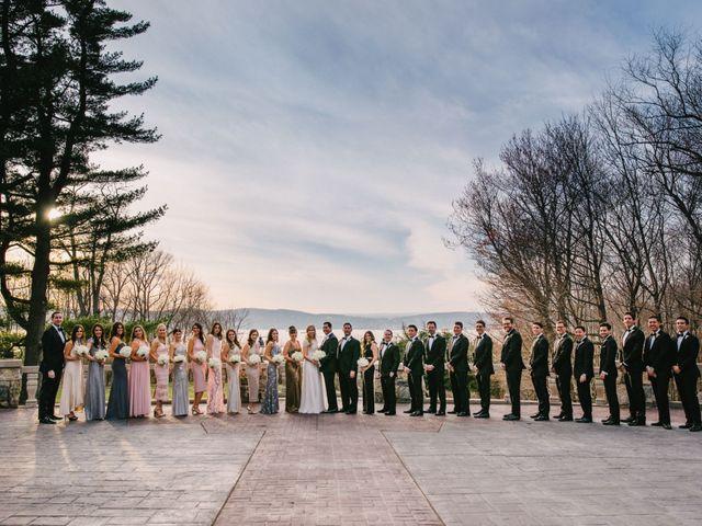 Matthew and Rebecca's Wedding in Tappan, New York 19
