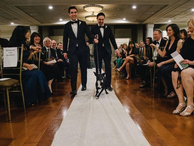 Matthew and Rebecca's Wedding in Tappan, New York 24