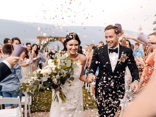 The wedding of Desiree and Matthew