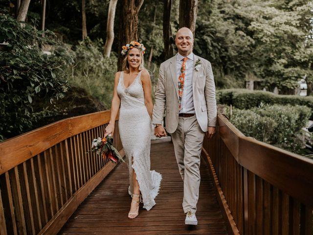 The wedding of Bailey and Dan