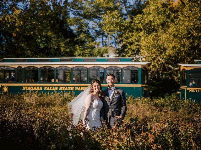 Paul and Katy's Wedding in Niagara Falls, New York 35