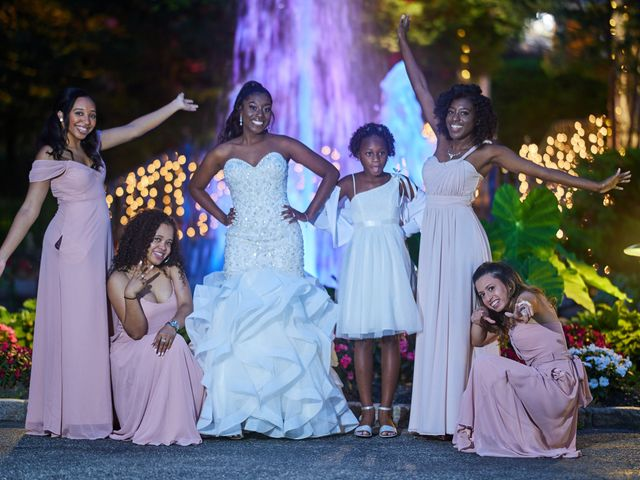 Mikal and Kerena's Wedding in Woodbury, New York 2