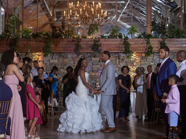 Mikal and Kerena's Wedding in Woodbury, New York 9