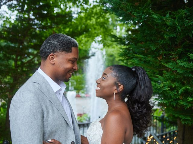 Mikal and Kerena's Wedding in Woodbury, New York 11