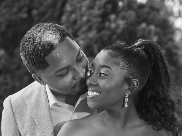 Mikal and Kerena's Wedding in Woodbury, New York 1