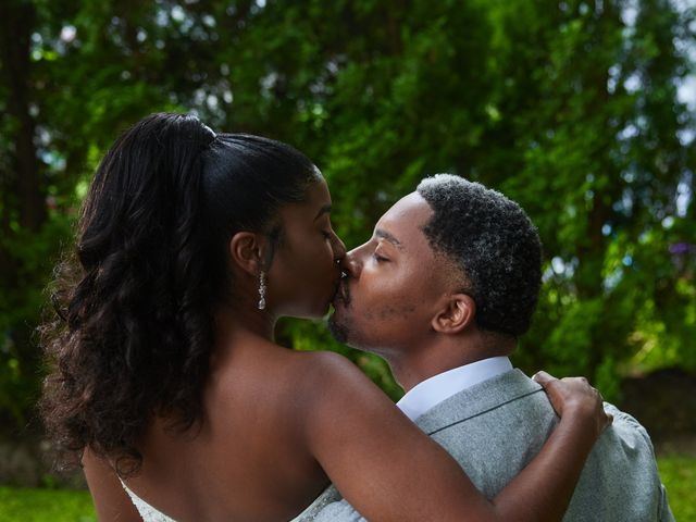 Mikal and Kerena's Wedding in Woodbury, New York 12