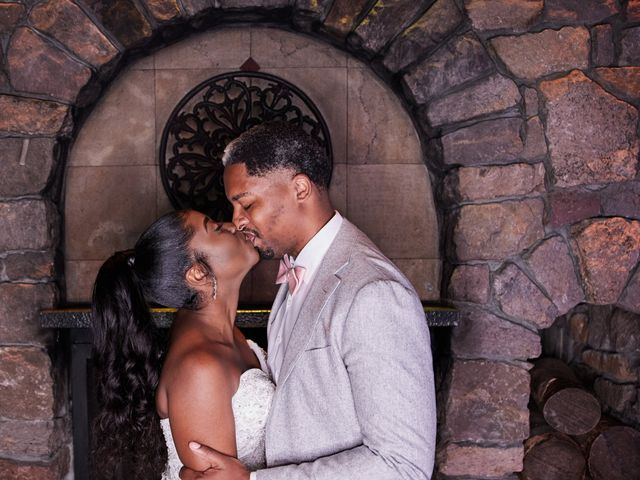 The wedding of Kerena and Mikal