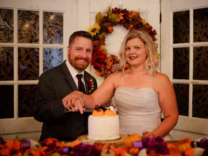 The wedding of Ashley and Eric
