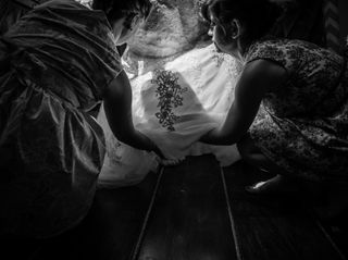 The wedding of Angela and Thomas 1