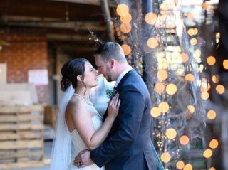 The wedding of Christin and Jordan