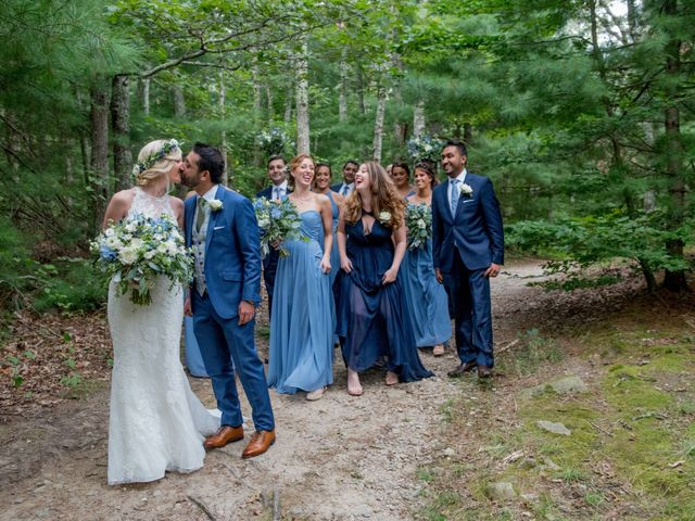Ameer and Lindsay's Wedding in Falmouth, Massachusetts 26