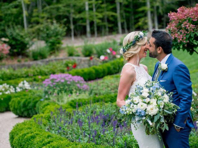The wedding of Lindsay and Ameer