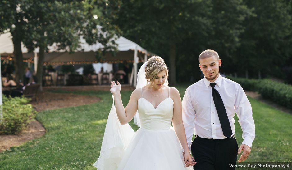 Madison and Ryan's Wedding in Apex, North Carolina