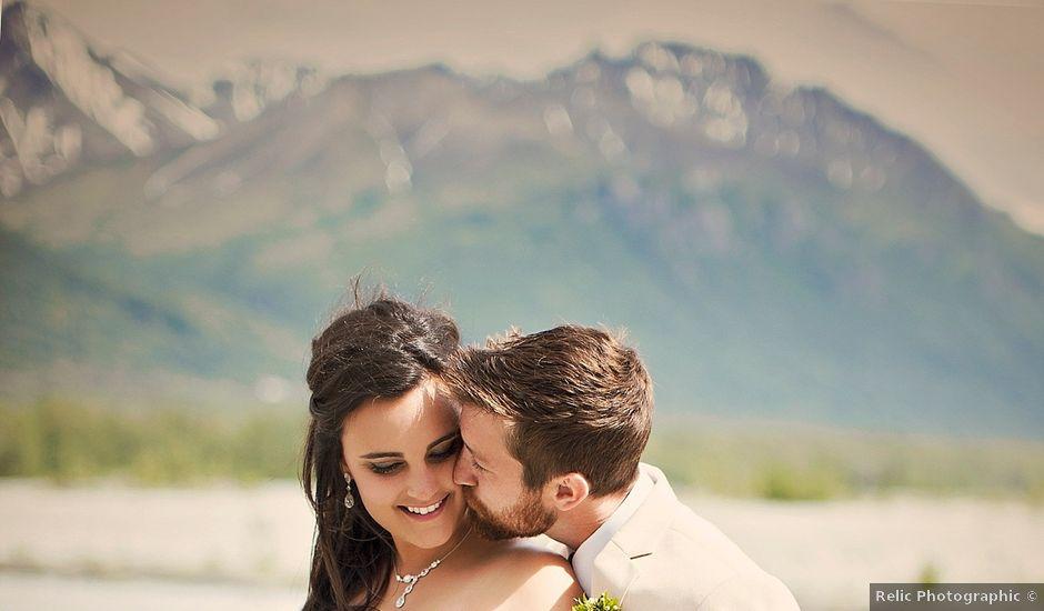 Jordan and Wrangel's Wedding in Palmer, Alaska