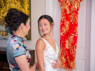 The wedding of Jen Ren and Tim Holzman 3