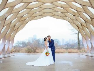 The wedding of Jennifer and Kevin