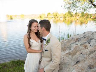 The wedding of Tess and Matthew
