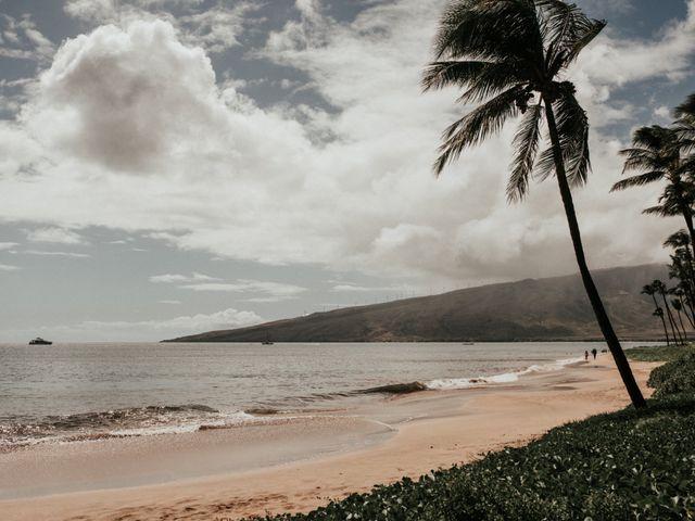 Aaron and Jennifer's Wedding in Kihei, Hawaii 1