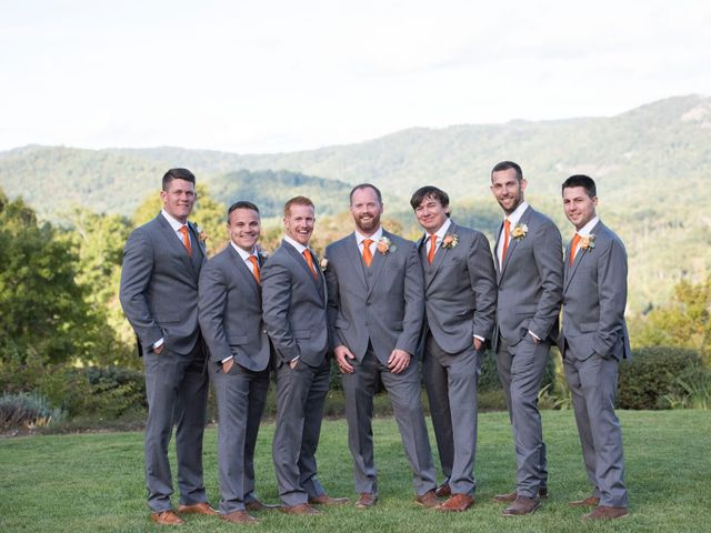 Ashley and Andrew's Wedding in Cashiers, North Carolina 14