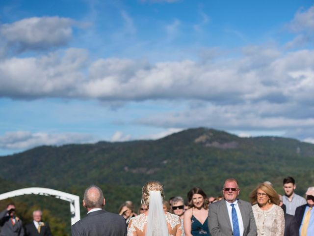 Ashley and Andrew's Wedding in Cashiers, North Carolina 17