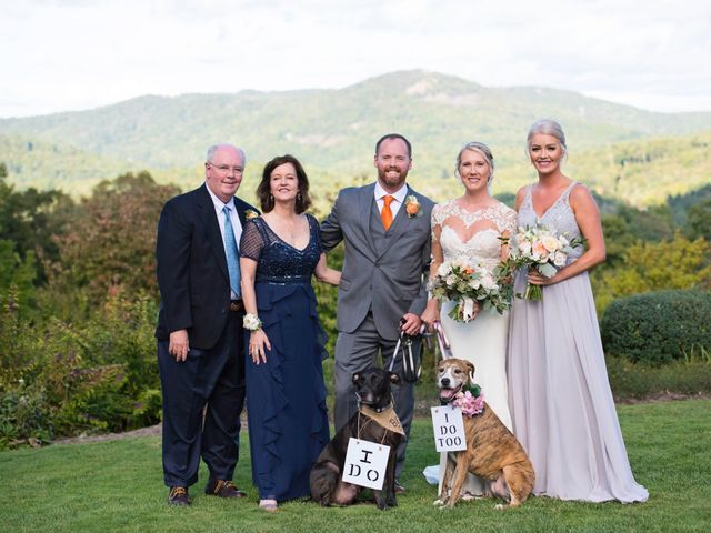 Ashley and Andrew's Wedding in Cashiers, North Carolina 23