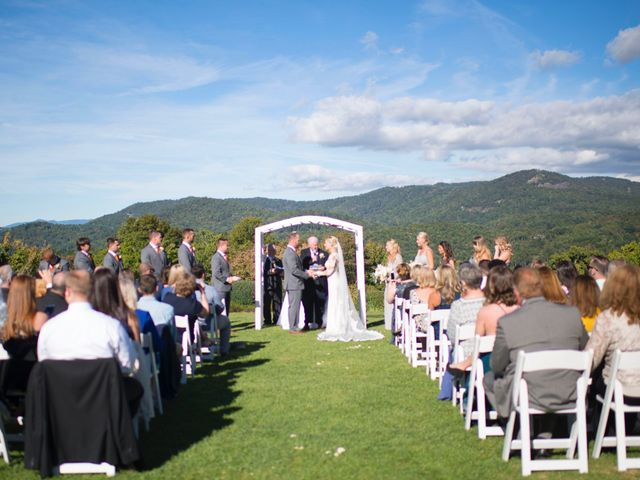Ashley and Andrew's Wedding in Cashiers, North Carolina 20