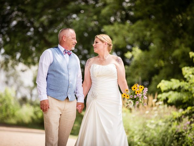 The wedding of Belinda and Tom