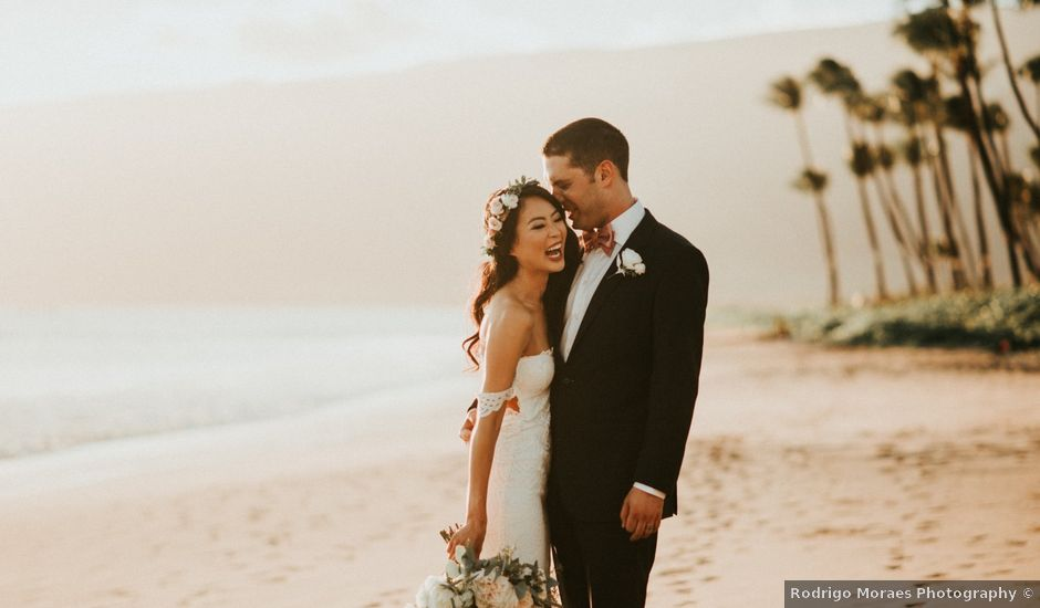 Aaron and Jennifer's Wedding in Kihei, Hawaii
