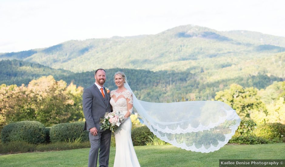 Ashley and Andrew's Wedding in Cashiers, North Carolina