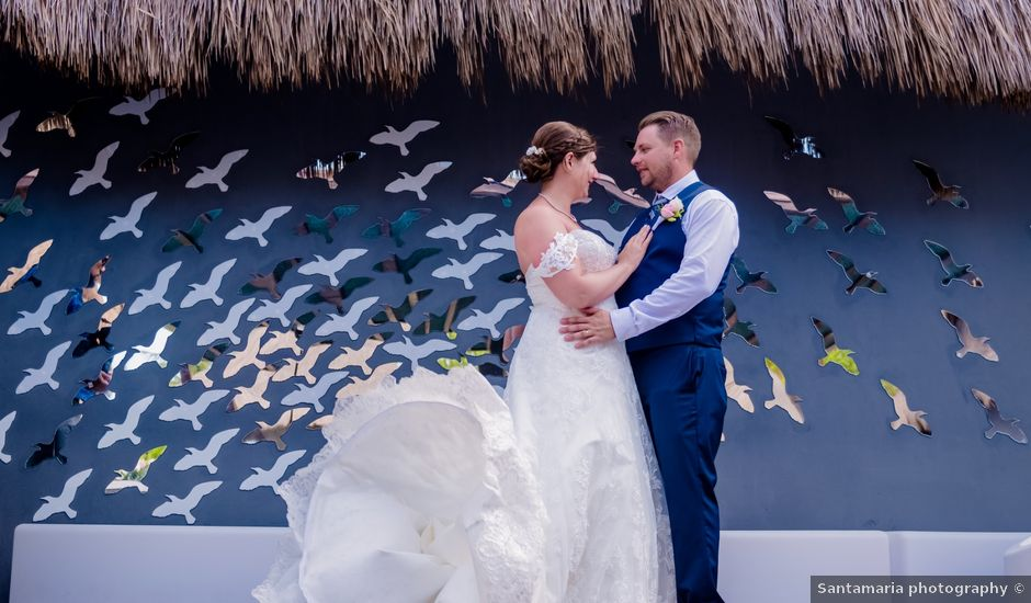 Andre and Brandi's Wedding in Playa del Carmen, Mexico
