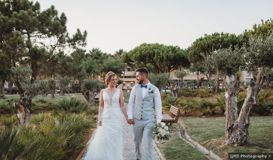 Eoin and Niamh's Wedding in Albufeira, Portugal