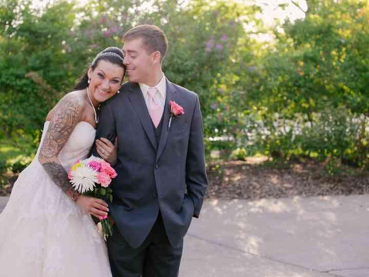 The wedding of Ashley and Layne
