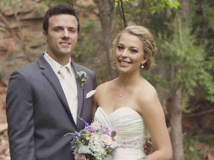 The wedding of Gideon and Milena