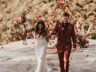 The wedding of Brianna Mancini  and Seth Crisp