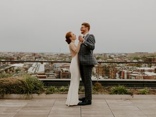 The wedding of Aubrey and Max