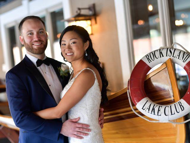 The wedding of Dana and Chris