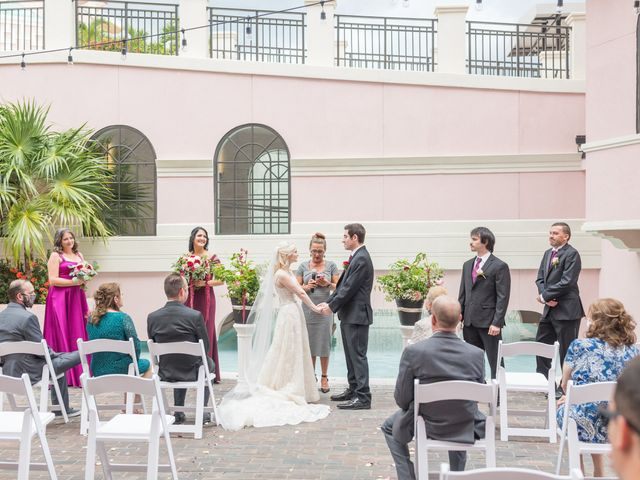 Justin and Chenoa's Wedding in Saint Petersburg, Florida 2