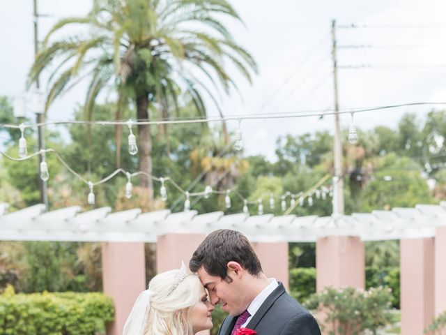 Justin and Chenoa's Wedding in Saint Petersburg, Florida 22
