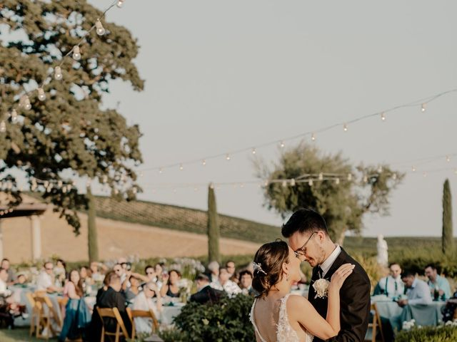 Zach and Kelly's Wedding in Paso Robles, California 12