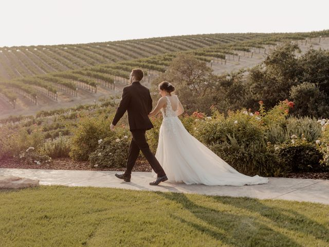 Zach and Kelly's Wedding in Paso Robles, California 16